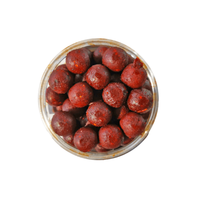 Dr. Baits Spice Krill Strawberry Feeder Boilies
